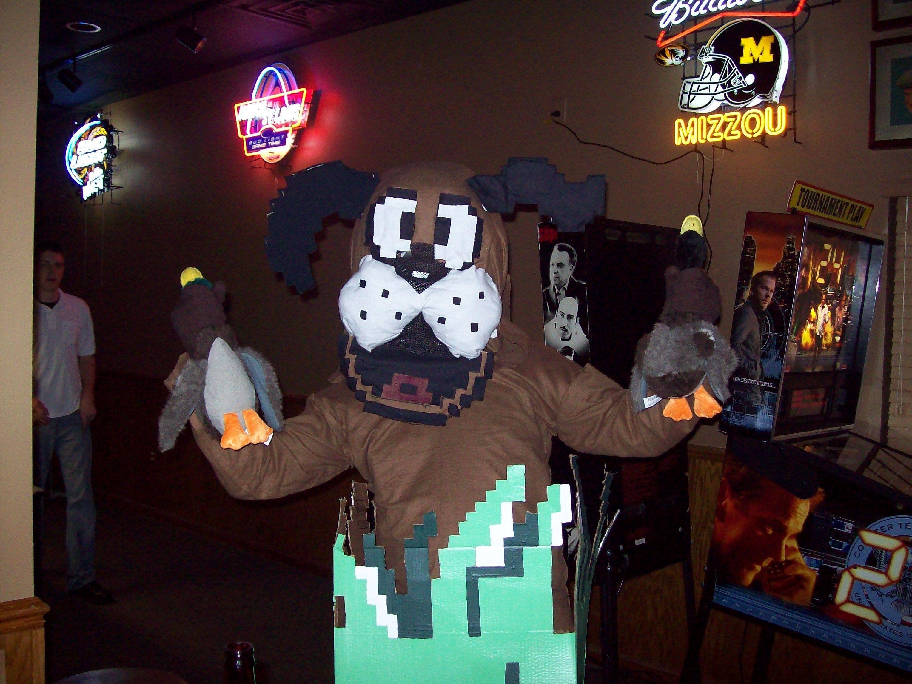 Amazing Duck Hunt Cosplay Cosplay Geeky Halloween Costumes