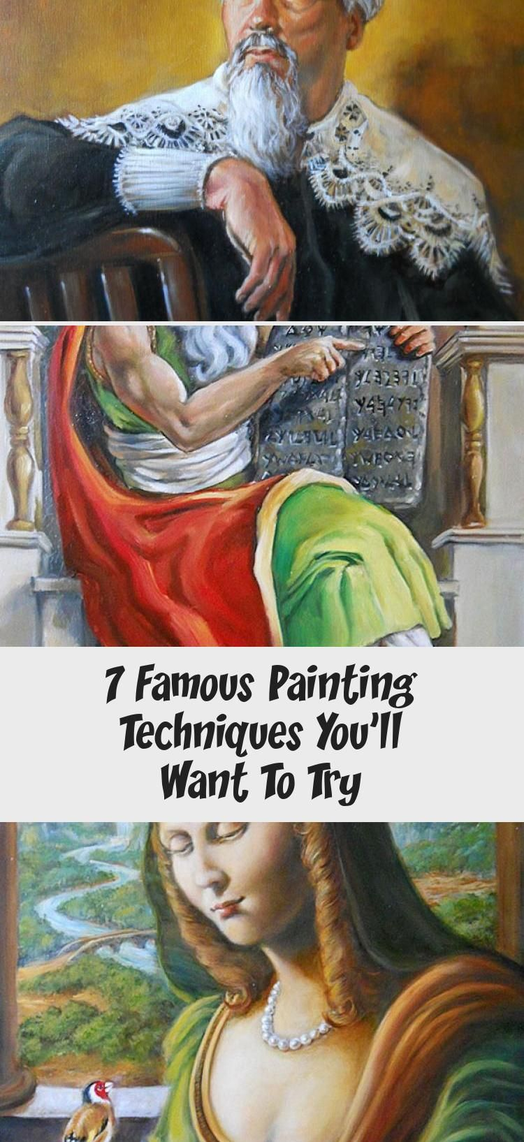 7 famous artists and their signature painting styles