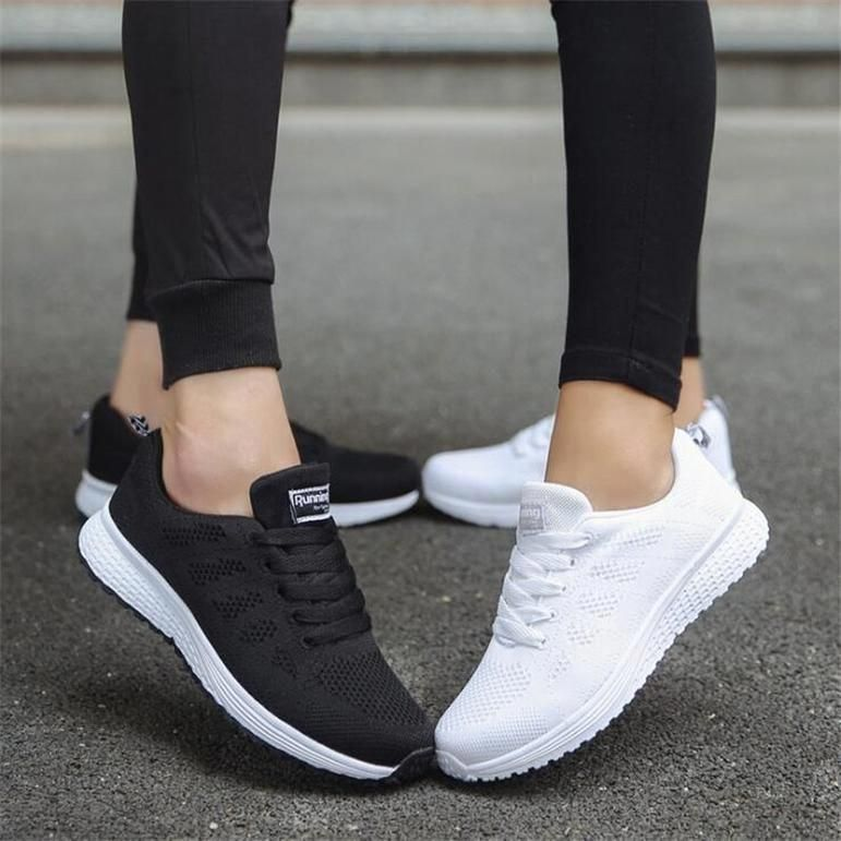 Women/'s Breathable Sneakers Shallow Mouth Shoes Woven Candy Color Student Mesh Shoe