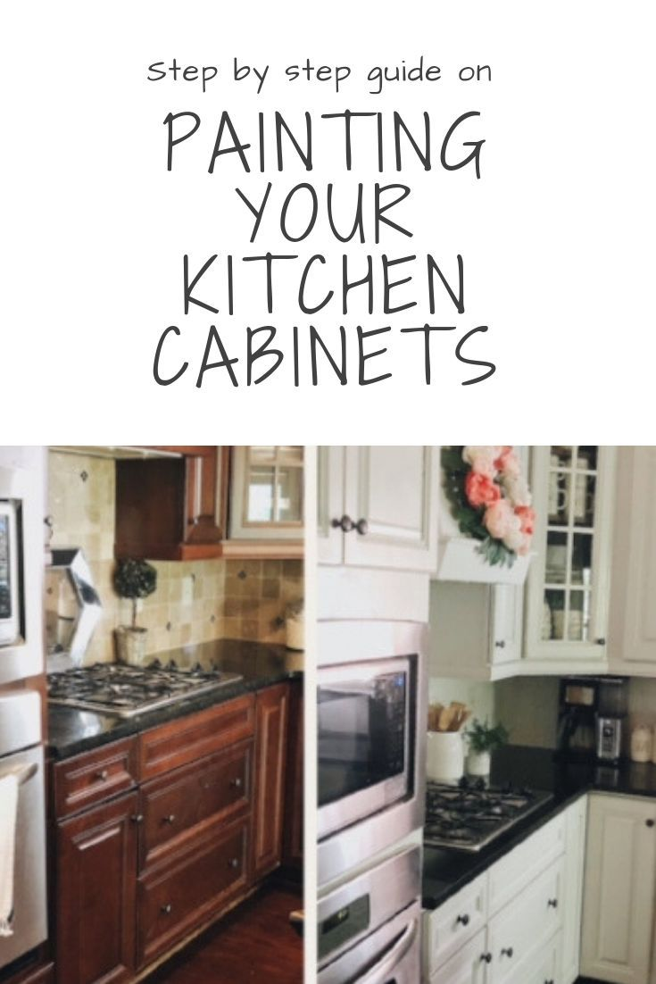 Part Two Of Painting Your Kitchen Cabinets Painting And