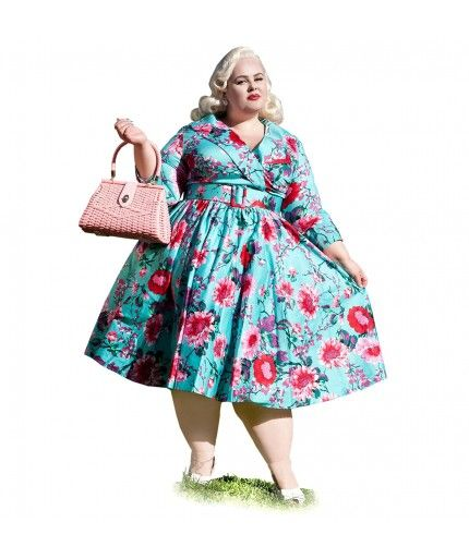 1950s Plus Size Dresses, Clothing | 1940s -1950s Plus Size Clothing ...