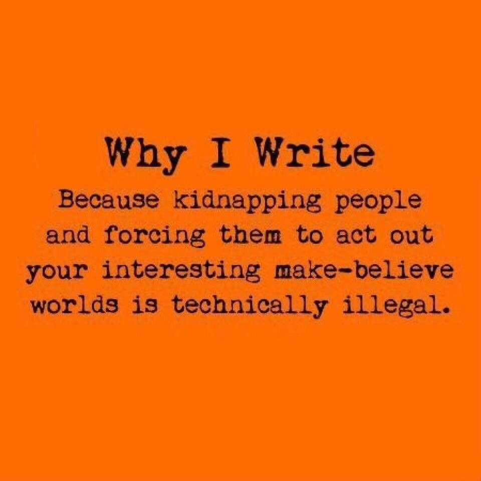 Writing: Doing whats illegal, without it really being illegal ...