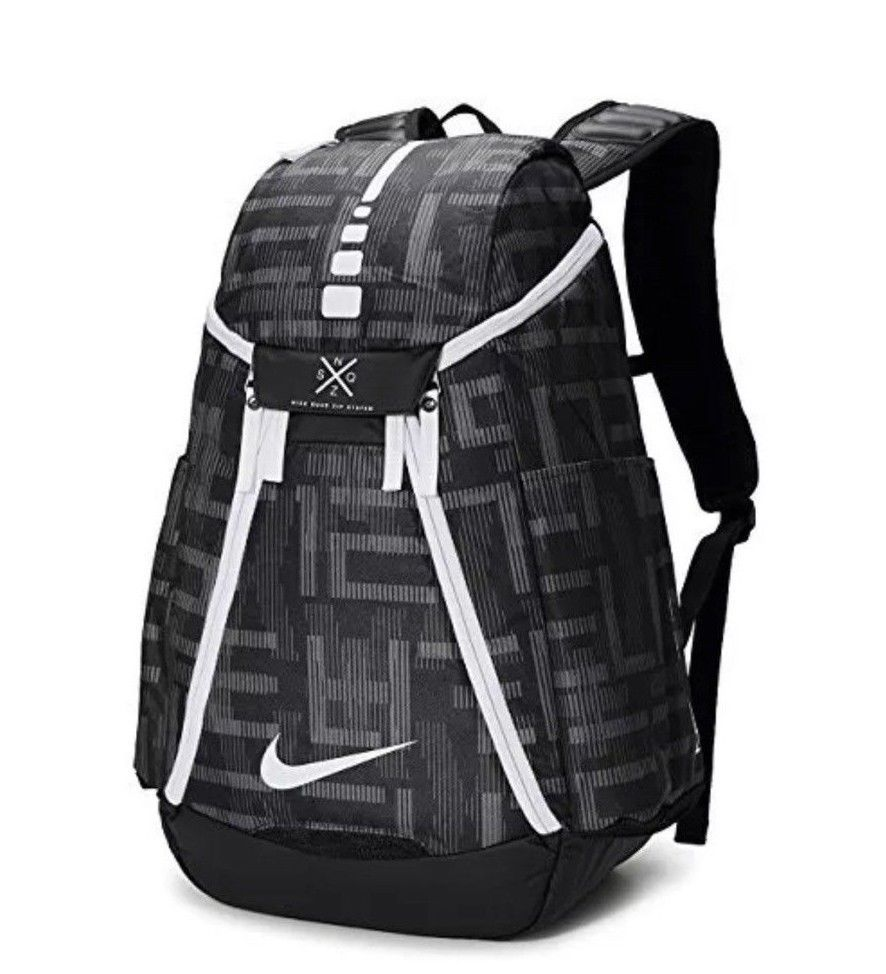 57d9195bed NIKE HOOPS ELITE MAX AIR TEAM 2.0 BASKETBALL GRAPHIC BACKPACK BA5260 013   Nike  Backpack