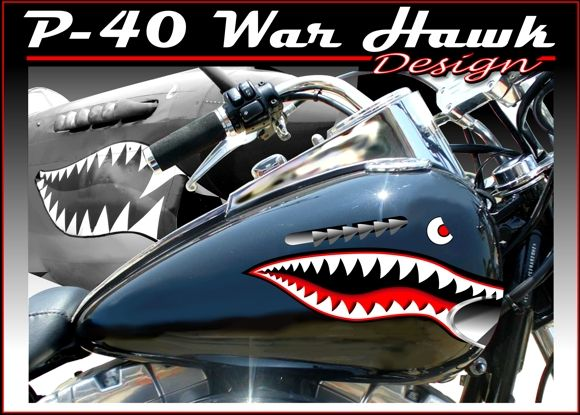 P Warhawk Motorcycle Decals Motorcycle Vinyl Graphics - Decal graphics for motorcyclestribal motorcycle graphics tribal motorcycle decals motorcycle