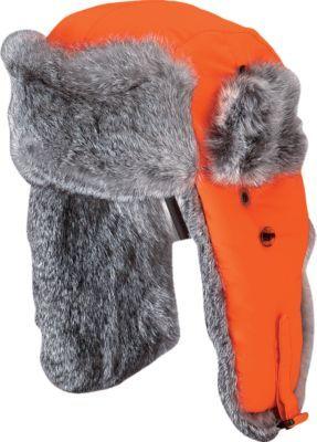 Mad Bomber® Rabbit Fur Hats – Blaze Orange   Cabela s  43b344b626b7