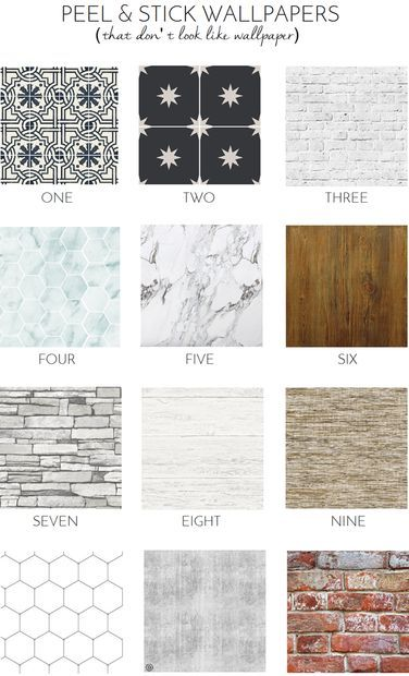 12 Peel Stick Wallpapers That Don T Look Like Wallpaper At All Kitchen Wallpaper Peel And Stick Wallpaper Wallpaper