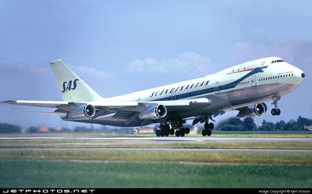 Scandinavian Airlines System Sas Boeing 747 283b Aircraft Boeing Scandinavian Airlines System
