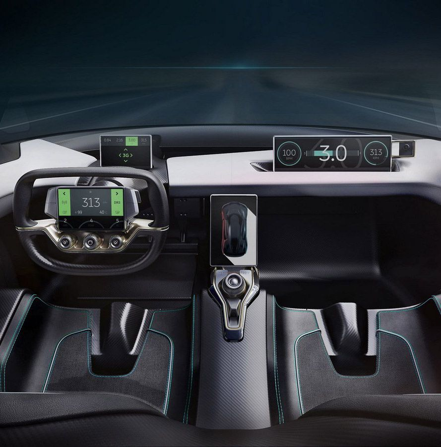Chinese Electric Car Startup Showcased Nextev Nio Ep9 As: ボード「Automotive UI」のピン