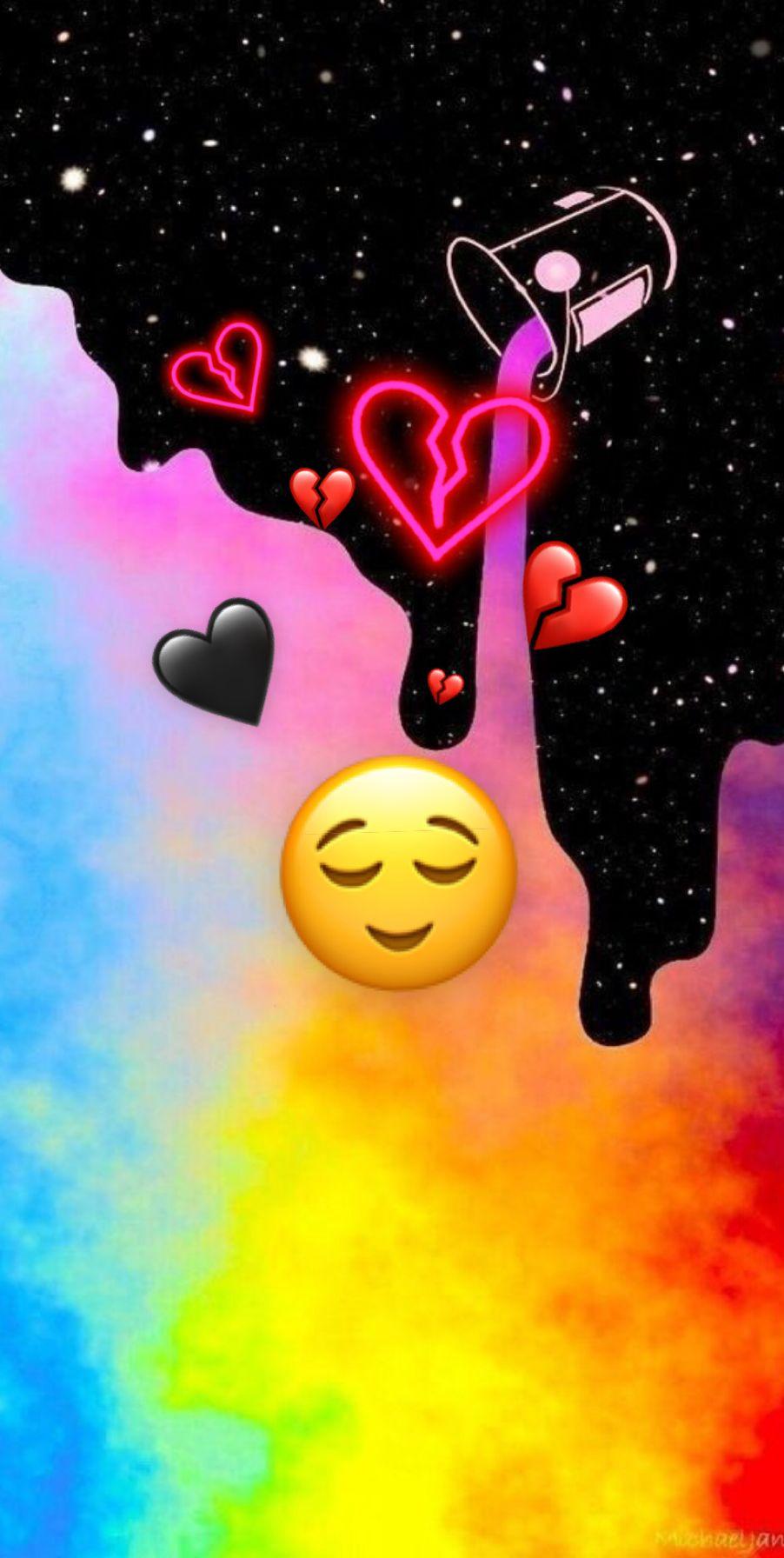 Covered Heart Break Emoji Wallpaper Iphone Cute Emoji Wallpaper Cartoon Wallpaper Iphone
