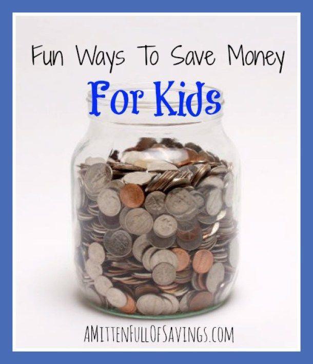 Fun Ways To Save Money For Kids Money Saving Jar Coin Jar Saving Money