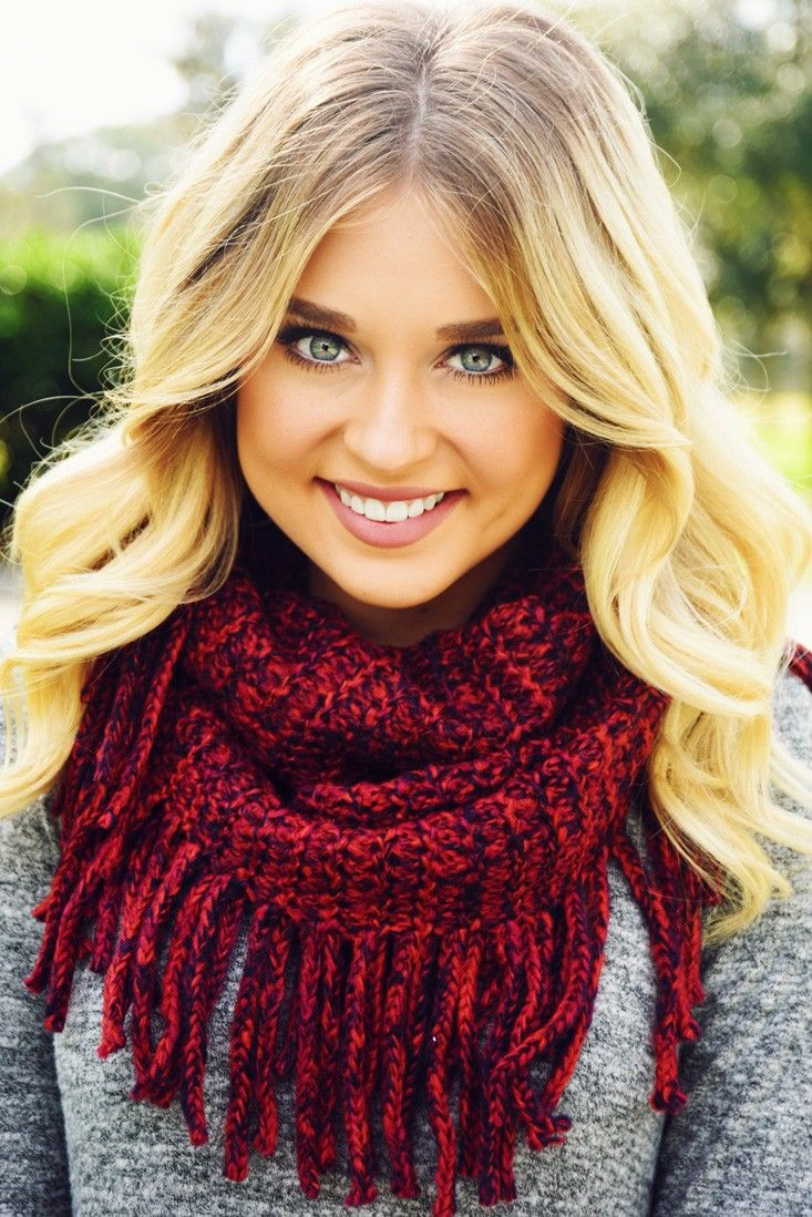 If This Is What You Want Scarf: Burgundy/Multi #shophopes
