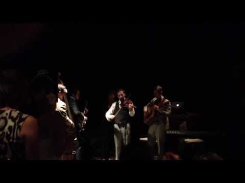"""Punch Brothers cover Beyonce's """"Love on Top"""" with Mary Faber, Gabe Witcher's brand new bride."""