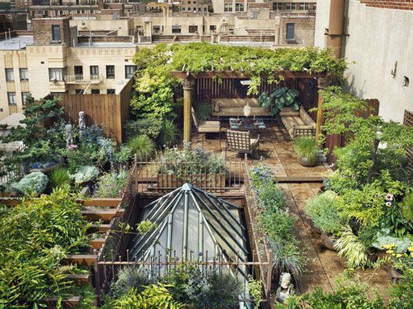 rooftop landscaping ideas 2 30 Rooftop Garden Design Ideas Adding