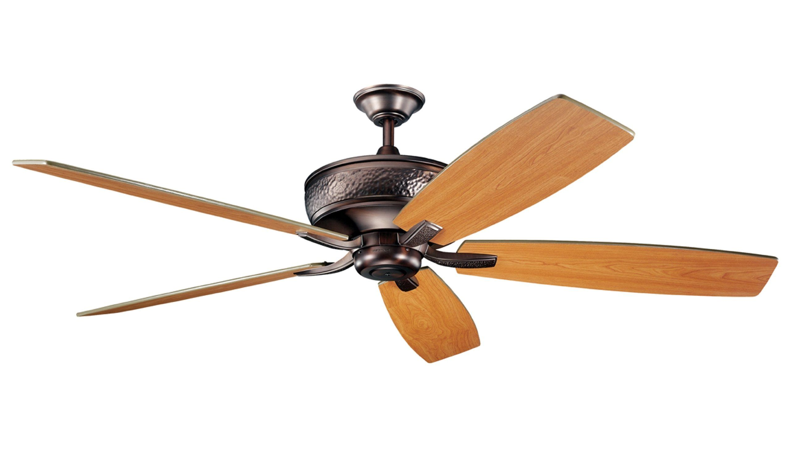Kichler Lighting 300106tz Monarch 70in Ceiling Fan Tannery Bronze