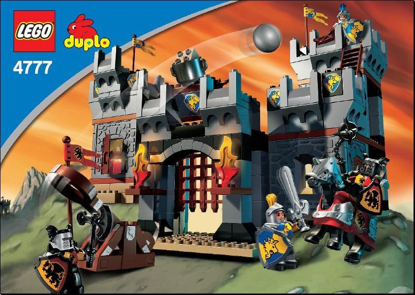 Duplo Knights Castle 4777 Instructions Duplo Lego Duplo Lego