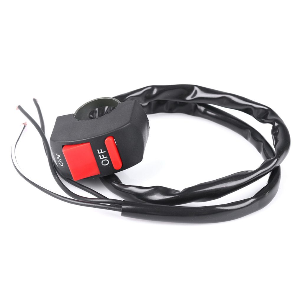 Universal Handlebar Motorcycle Kill Switch 3 Lines On Off Button Remote Control Atv Wiring Bullet Connector 65cm 12v Bike Handle Bar Stop
