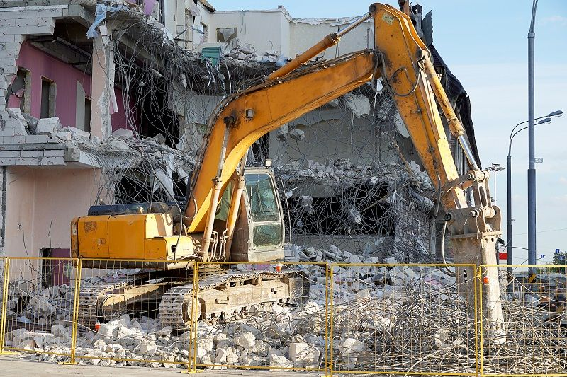 Diverse Methods Of House Demolition And Process For Building Structures Demolition House Building