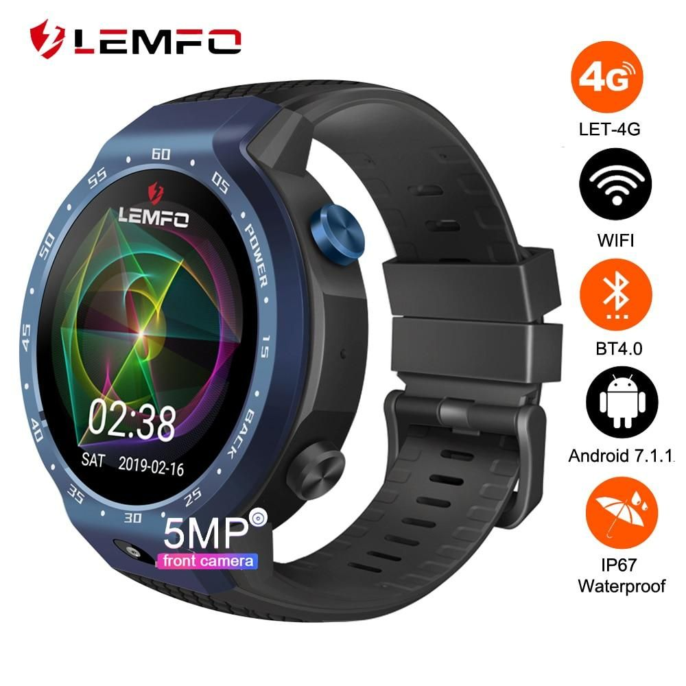 Dual systems 4g smart watch android with images smart