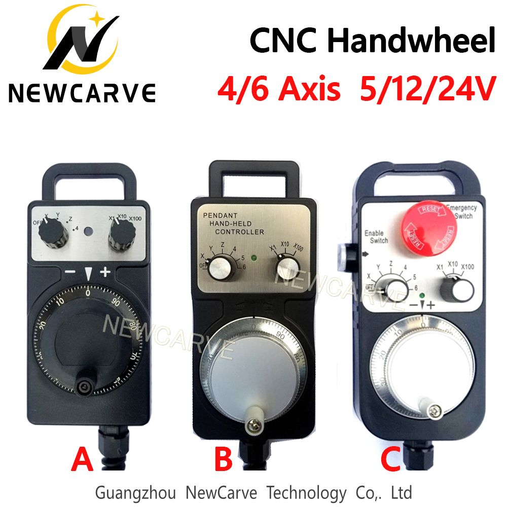 5V Engraving Machine MPG Handwheel Manual Pulse Generator CNC MPG ...