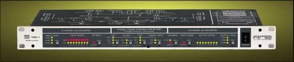 RME Intelligent Audio Solutions - ADI-8 PRO; the one I own, keeps me at a max of 24bit/48k for the time being