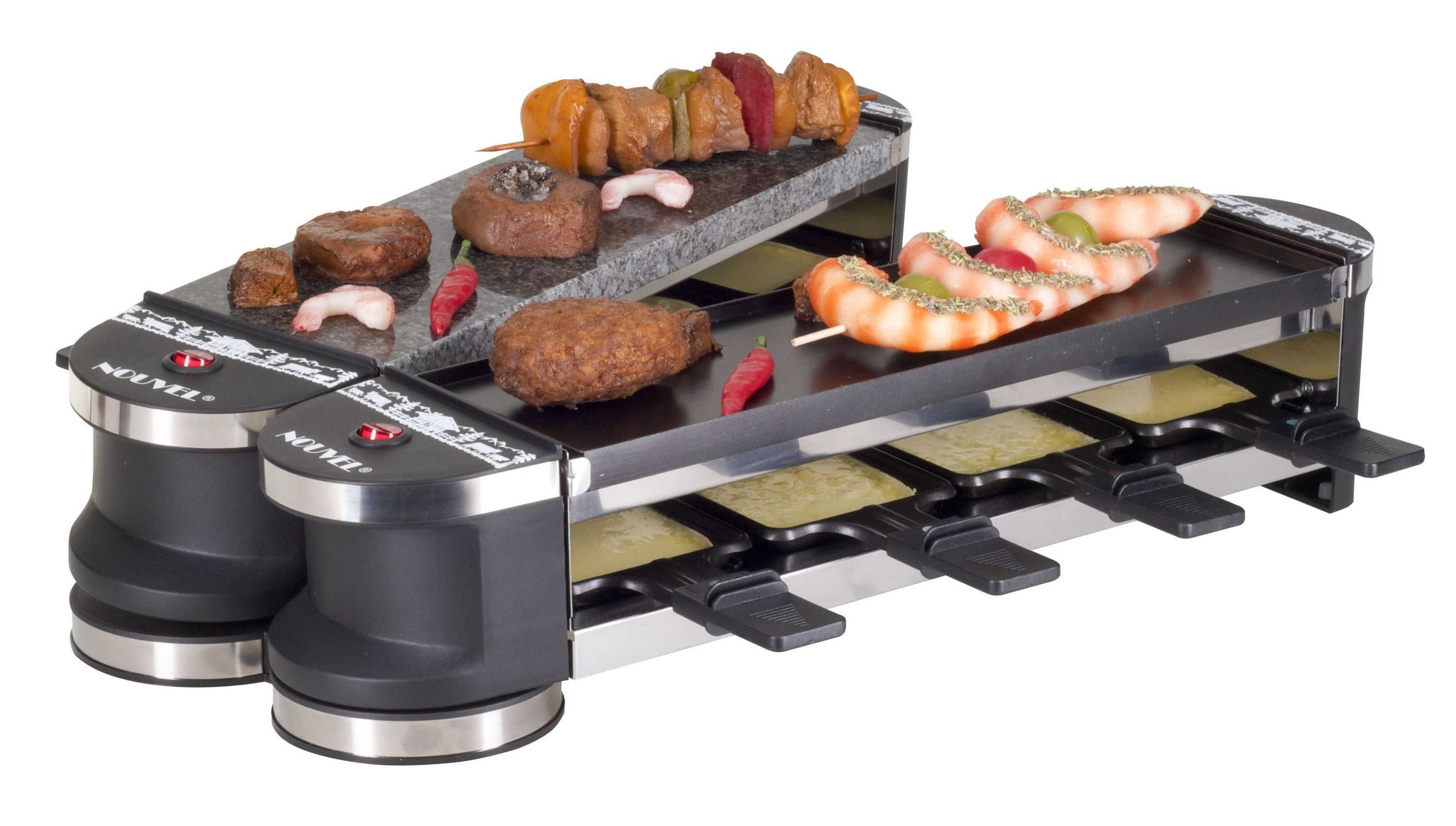 Nouvel Raclette Grill Docking 8 8 Personen Günstig Kaufen Raclette Grill Nouvel 401533 Heizleistung V Grillen Raclette Ofen Zubereitung