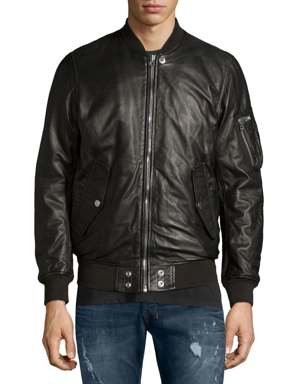 Diesel Leather Bomber Jacket Black Bomber Jacket Black Bomber Jacket Leather Bomber Jacket [ 1500 x 1200 Pixel ]