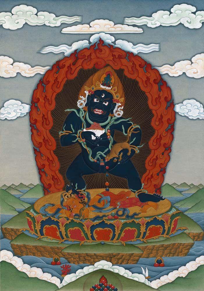 Black Jambhala | Buddhist art, Buddhist, Buddhism