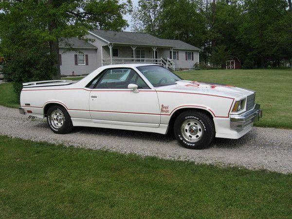Beautiful El Camino Royal Knight 1979 15 900 Classic Cars