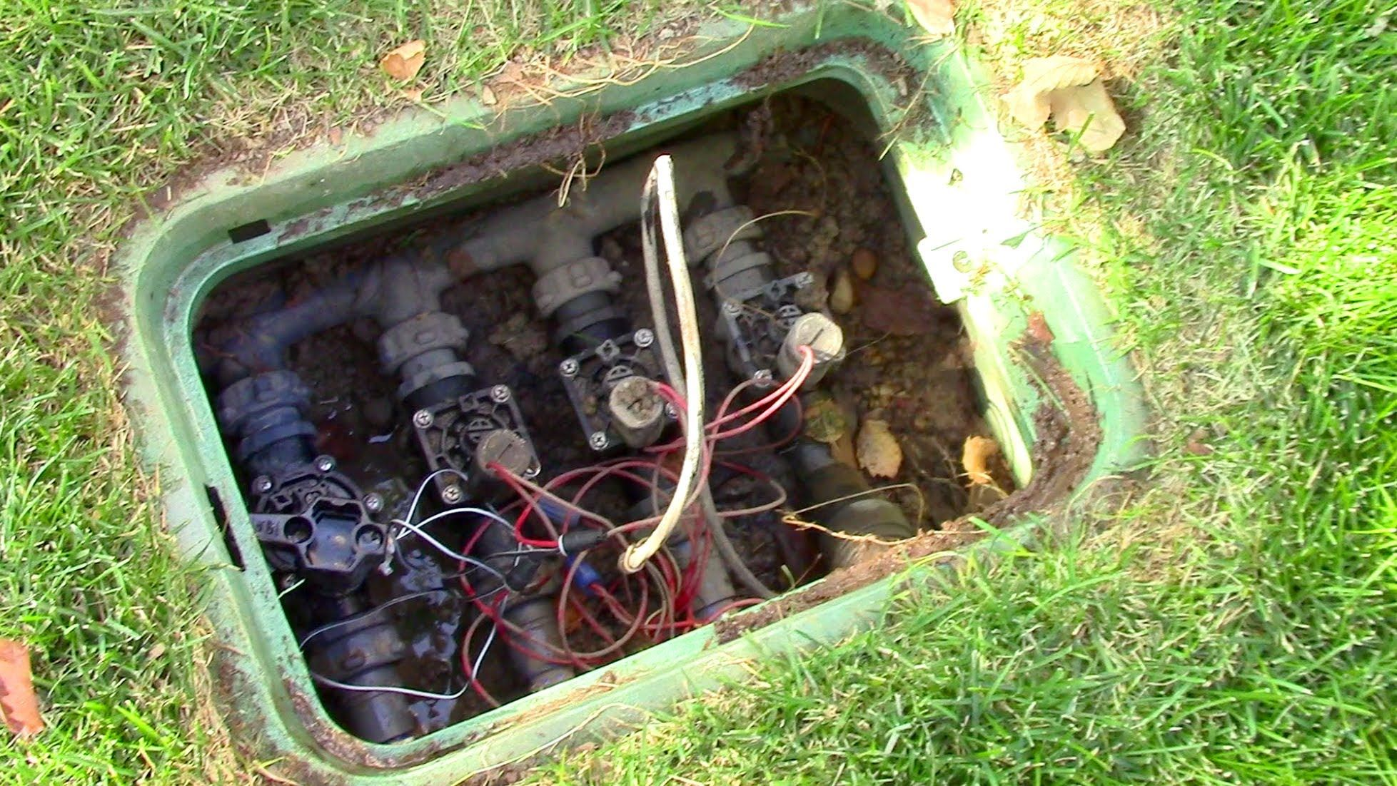 how to blow out winterize your sprinkler system for my garden