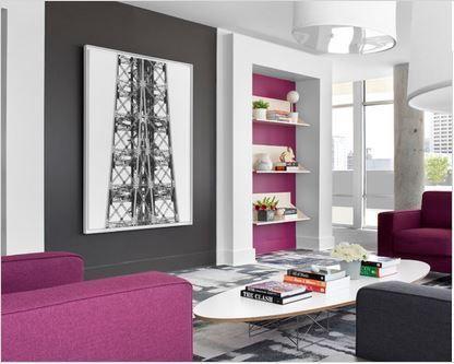 Idee Deco Salon Rose Et Gris decoration interieur salon sejour ...