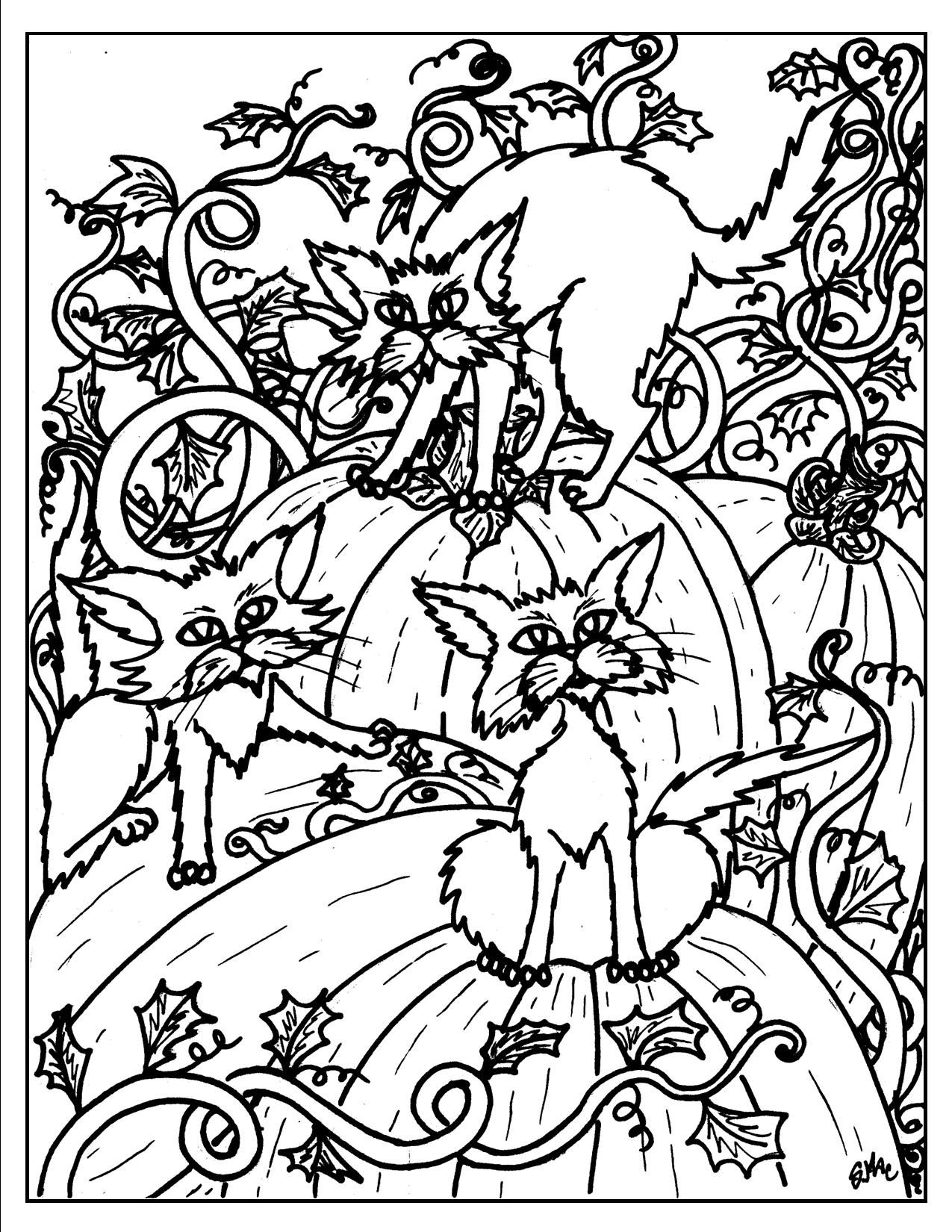 Halloween Coloring Pages Cat Coloring Page Halloween Coloring Pages Halloween Coloring Sheets