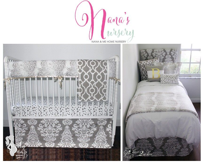 Nana S Nursery And Home Bedding Collection Coordinating Crib Twin Full Queen