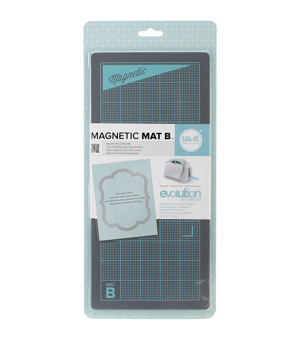 We R Memory Keepers Magnetic Mat B For Use With Evolution Advanced Products We R Memory Keepers Die Cut Machines Joanns Fabric Crafts