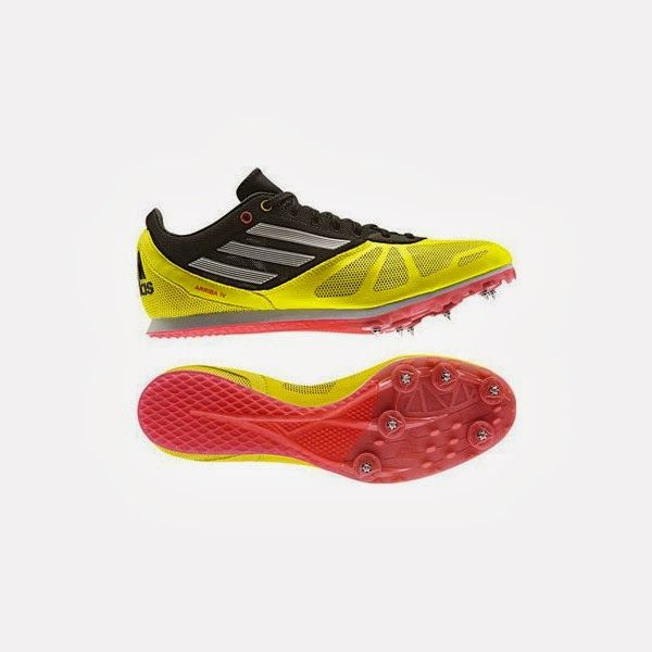 zapatillas de clavos atletismo adidas