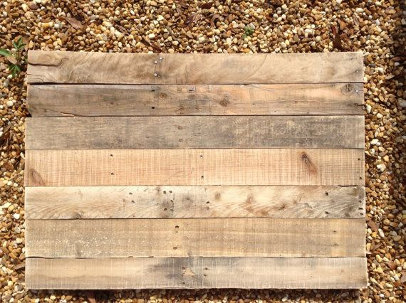 Blank pallet wooden sign diy by