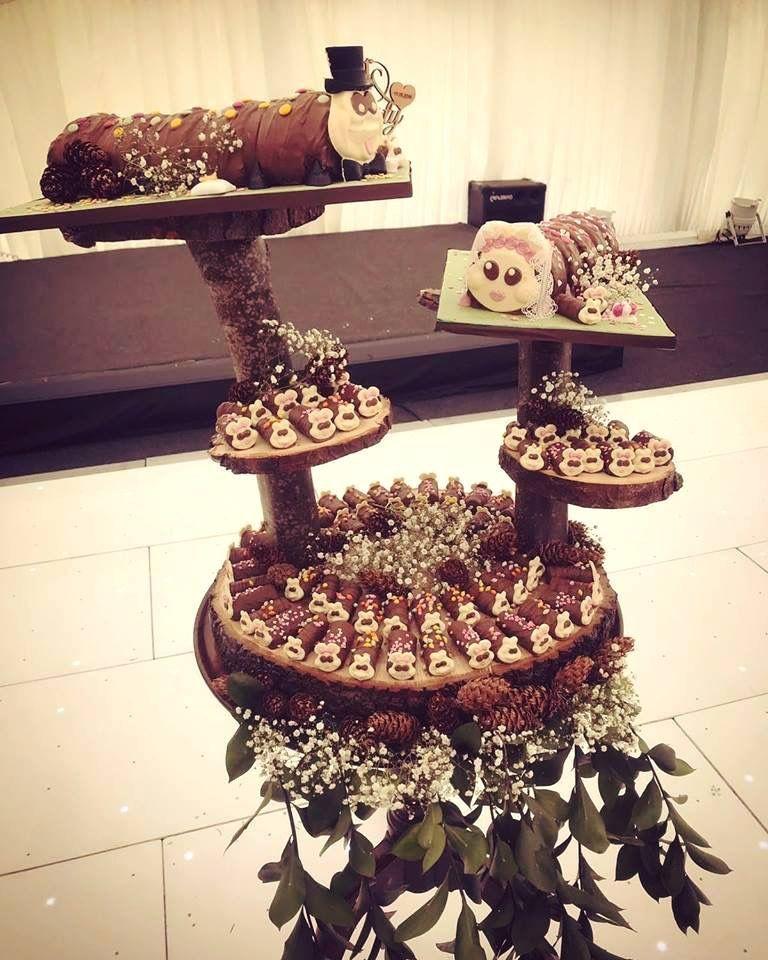 Colin The Caterpillar Wedding Cake Wedding Cake Display Wedding