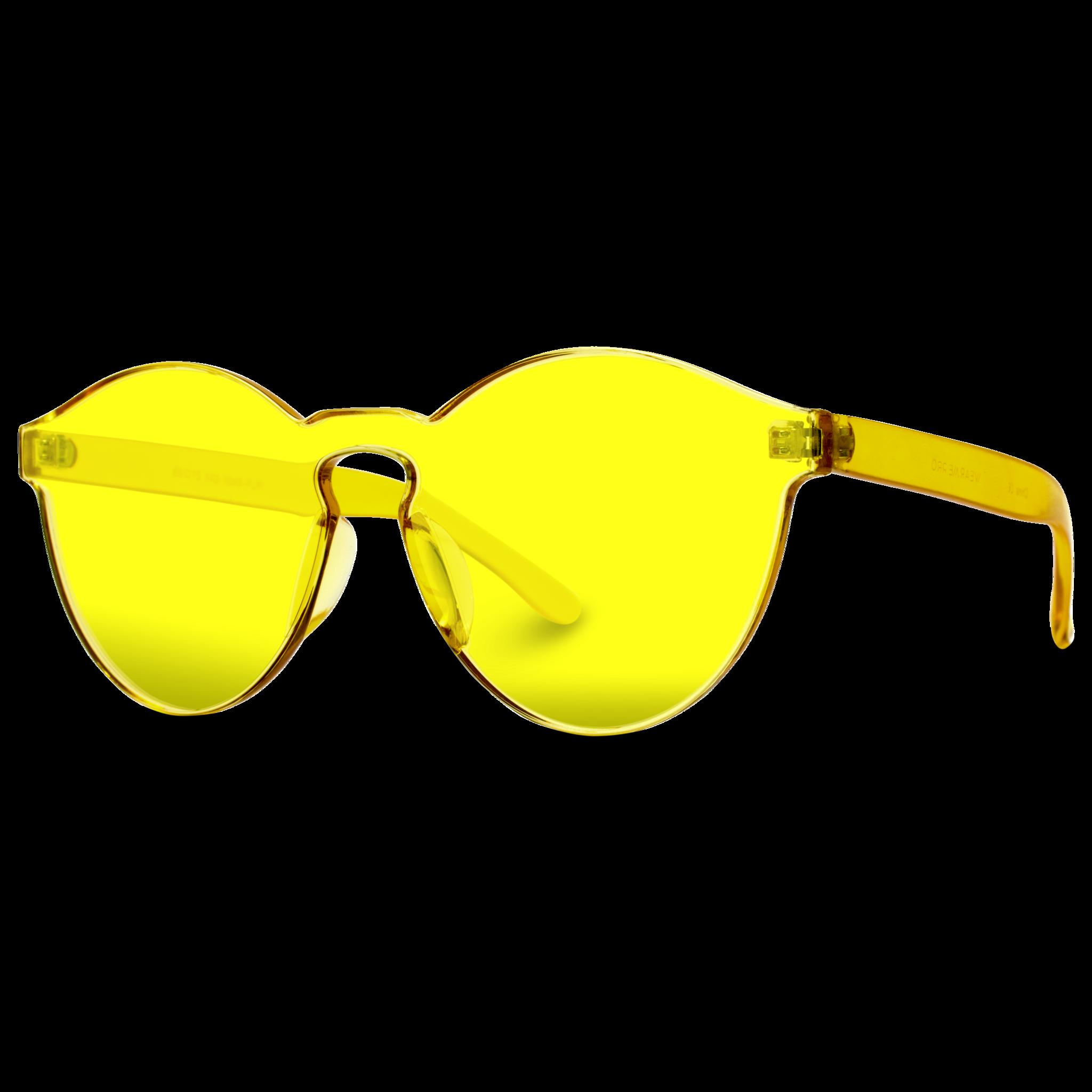 2c832e812f8130 Bailey Colorful Transparent Mono Round Summer Sunglasses in 2019 ...
