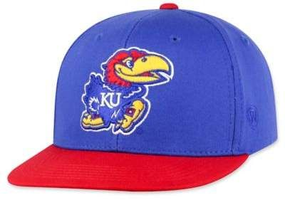 free shipping e3f69 f1942 University of Kansas Maverick Youth Snapback Hat  Hat Snapback Youth