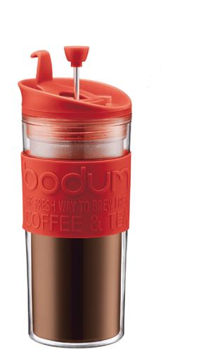 ¿Te gusta tu café para llevar? Termo con prensa francesa listo para ti!