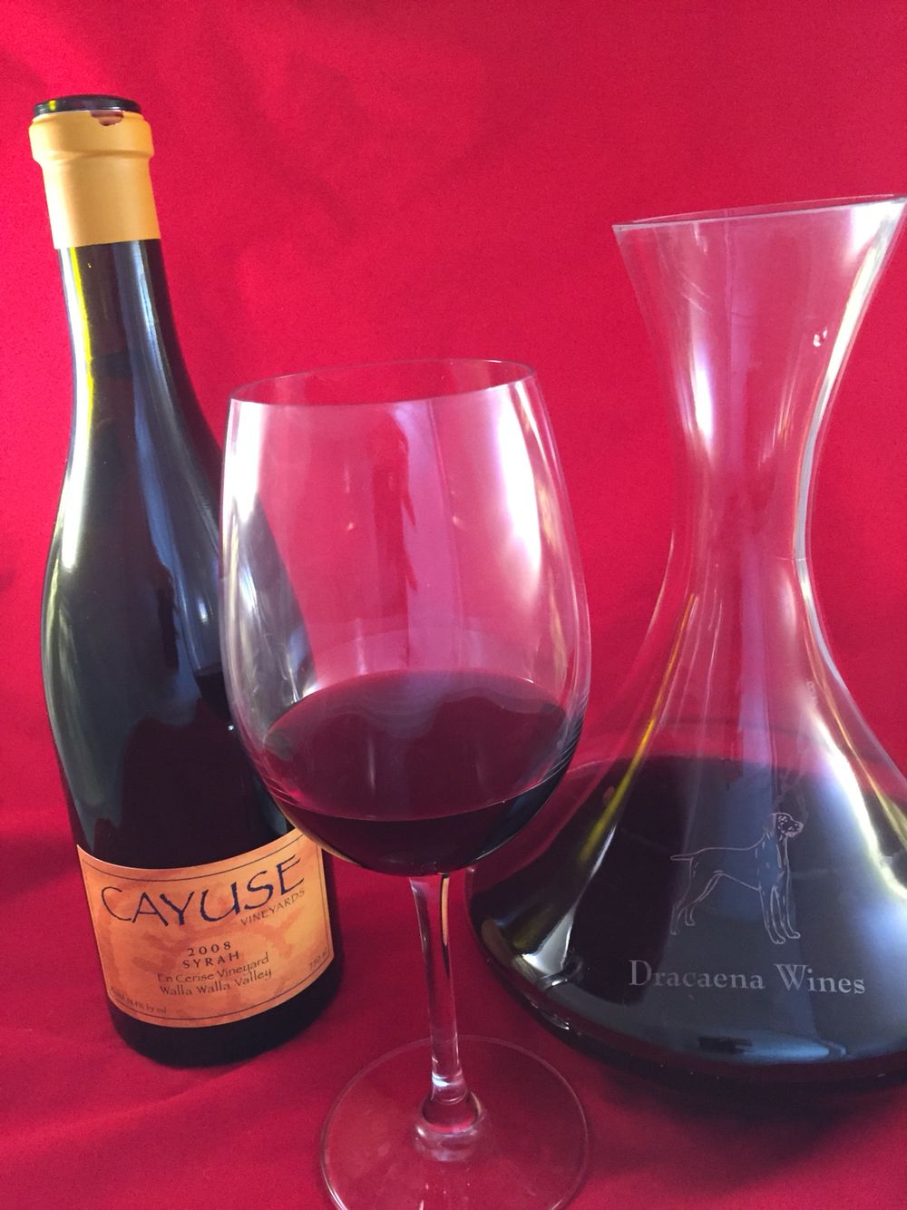In Our Glass Tonight Cayuse En Cerise Syrah Wallawalla Wiyg Wine Wines Syrah