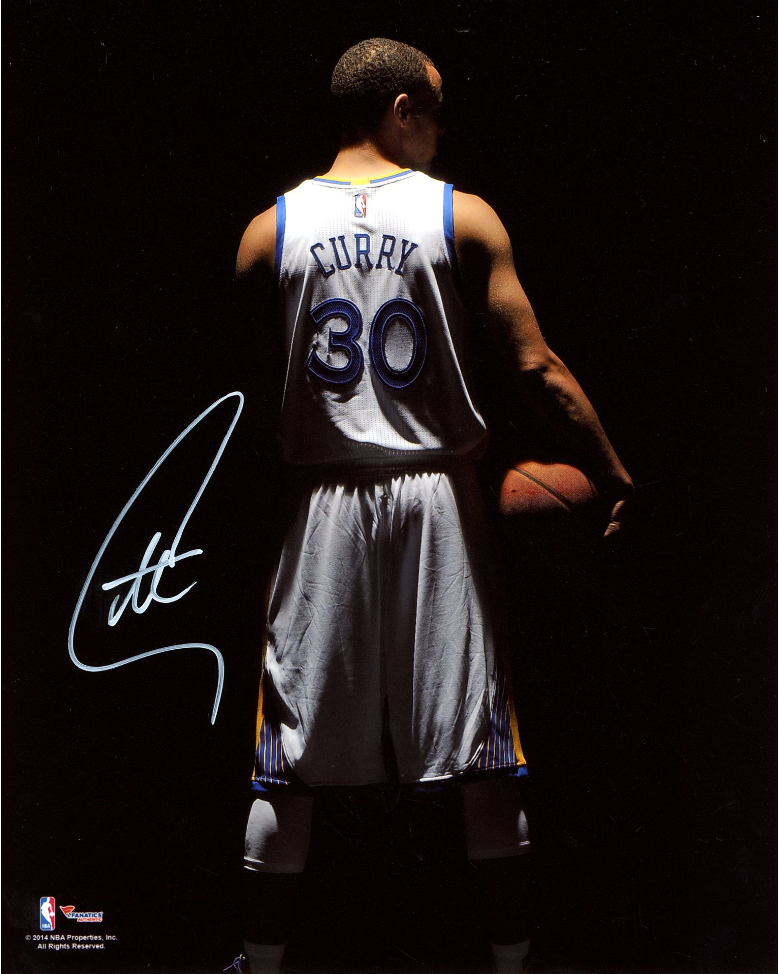 "Stephen Curry Wallpaper: Stephen Curry Golden State Warriors Autographed 8"" X 10"