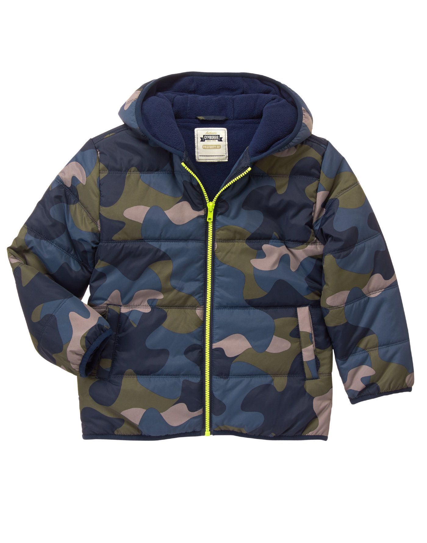 4f348d9c5 Camo Puffer Jacket