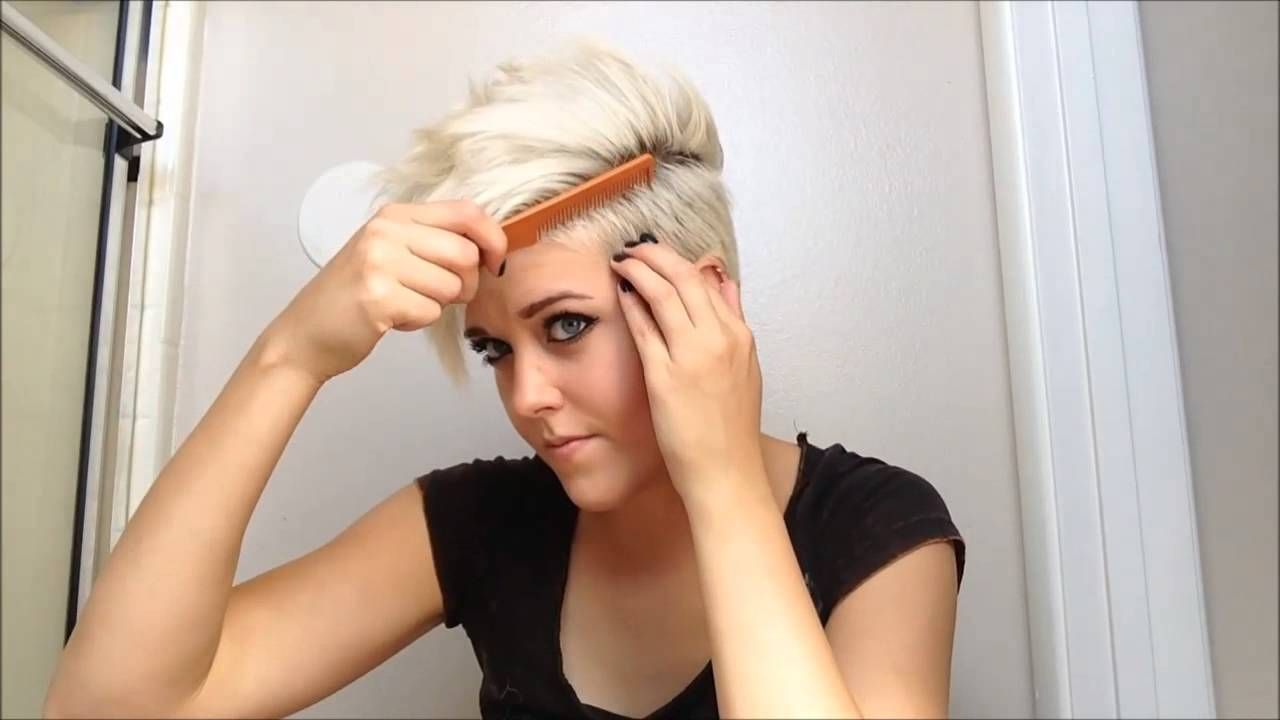 Ways To Style Short Hair How To Style Really Short Hair  Youtube  Short Hair  Pinterest