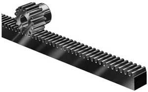 Linear rack and pinion / hub MARTIN SPROCKET & GEAR   Cnc