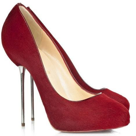 Red Stiletto High Heels - http://ikuzoladyshoes.com/red-stiletto ...