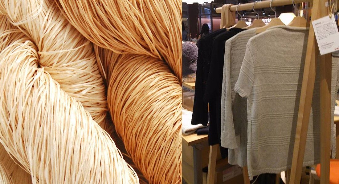 eb8ccd16f7 Empresa japonesa Sasawashi fabrica tecidos sustentáveis feitos de fios de  papel Washi - Stylo Urbano