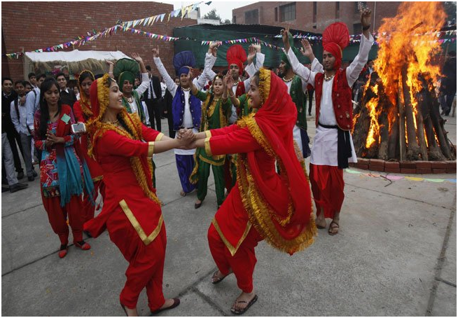 With the start of New Year, Punjab sparks exuberance to the country with its most important and effervescent festival, Lohri. People frolic around the bon-fire; perform Bhangra and Gidda, dressed in adorable costumes, to the vibrant Punjabi folk music.