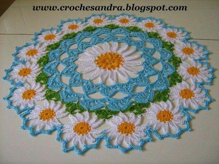Pin de charu khanna en crochet | Pinterest | Carpeta, Ganchillo y ...