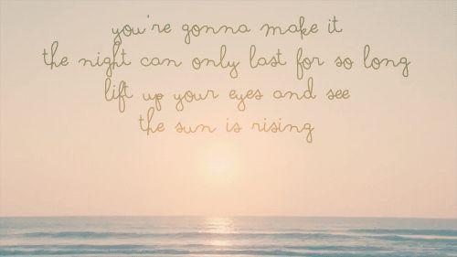 The Sun Is Rising - Britt Nicole