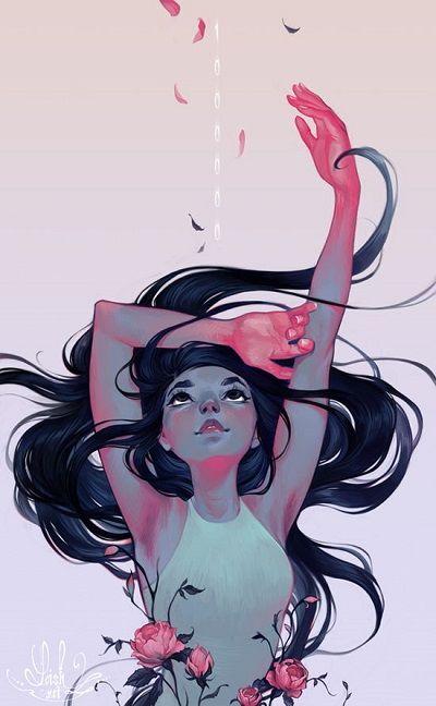 La luminosidad en las ilustraciones de Loish